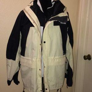 North face 2 piece jacket